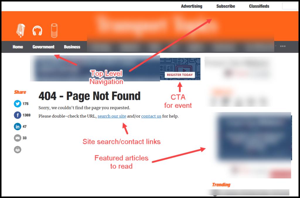 custom 404 error page example